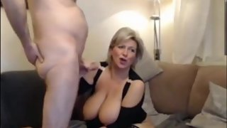 Crazy mature woman gets rough fucked by her boss on business trip