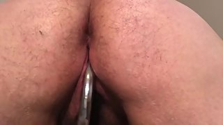 Chatty FTM Playing with His Chubby Pussy Until Orgasm
