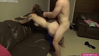 #34 Melody Radford Cheating WIFE Rough Sex Valentines Day with Flatmate