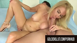 Golden Slut - Amazing Granny Erica Lauren Compilation Part 2