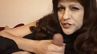 Naughty mature stepmom gets rough drilled by her lucky stepson