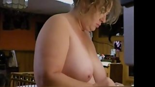 Ugly wife nude in the morning