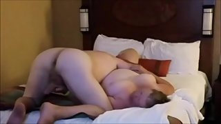 Ugly wife getting fuck in room at Walt Disney World