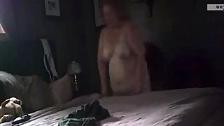 Ugly wife topless 8-26-2019