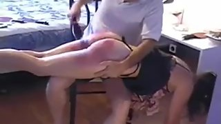 Mature asks for severe spanking