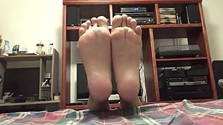 My Sexy Soft Wrinkled Soles With Odor Eaters Foot Powder