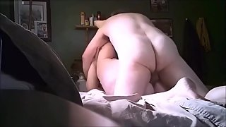 Ugly wife gets her fat ugly body fucked