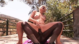 Hot Mature Sexy MILF?s First Time ever Big Black Dick BBC on Summer Holiday
