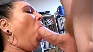 Big latina granny suck dick and get facial