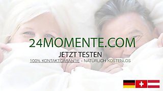 DEUTSCH: Grandpa cum in grandma