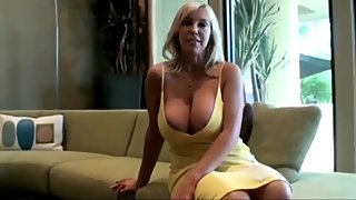 Sexy and busty american wife having fun with her boss on vacation