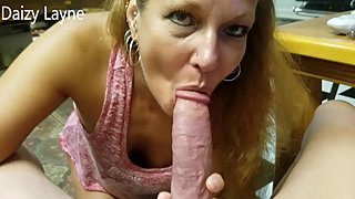Friends Wife can Suck and Swallow my Big Cock!