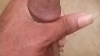 Stoking My Nice Hard Cock Until I Cum