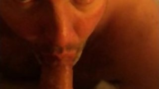Slut exposed sucking nasty gramps cock in sleazy hotel