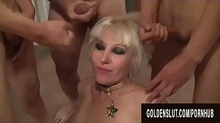 Golden Slut - Generous Cumshots for Horny Older Sluts Compilation Part 1