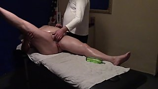 Cute BBW Mature Gets a Good Fuck after Massage