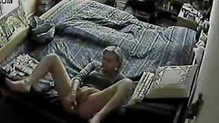 hidden cam older woman masturbation