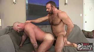 Brad kalvo and Josh Thomas fuck Bear mature