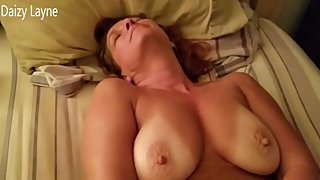 Big Tits Tan Mature Fingers her Tight Pussy and Plays with her Hard Nipples