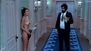 Locked out naked in hotel hallway - Mature Woman - ENF CMNF