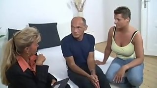German mature couple threesome
