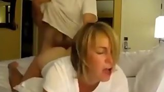 Horny mature wife used hard by her new neighbor