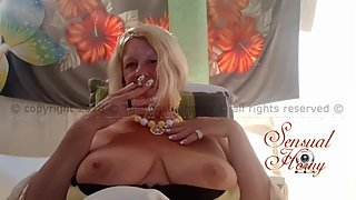 Another Smoking #420 Hot Video! #Mature #Smoking #High #Lips