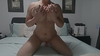 Imagine its your cock I'm riding xx Mature 54yo